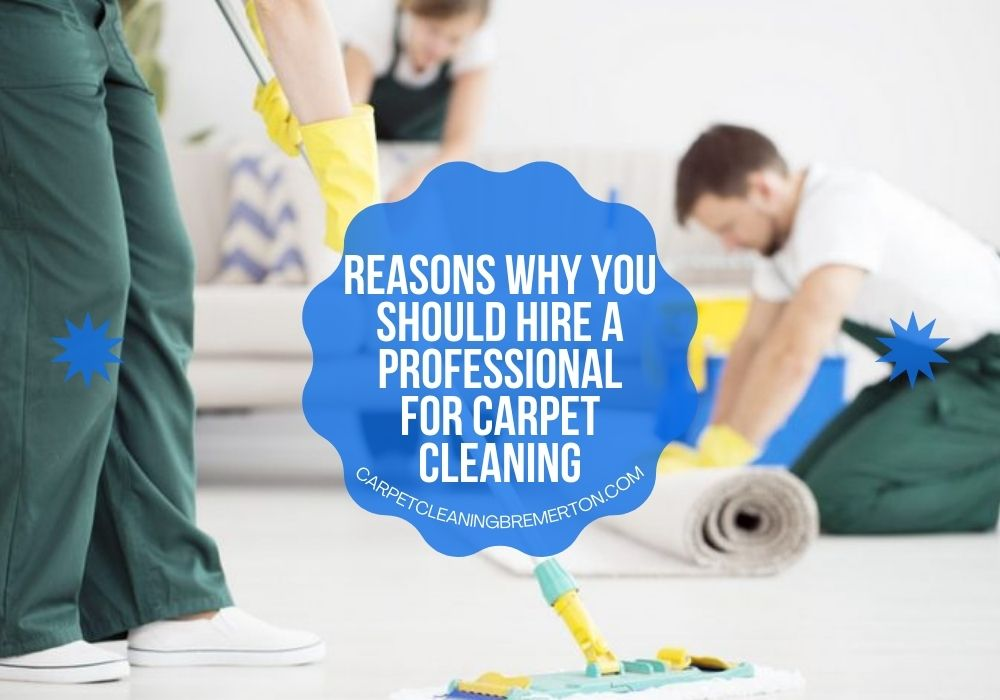 Hire a Professional for Carpet Cleaning