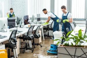 commercial cleaning desktops