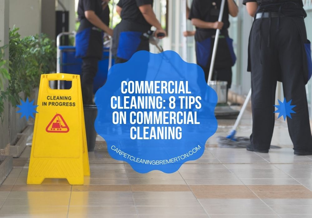 commercial cleaning workers